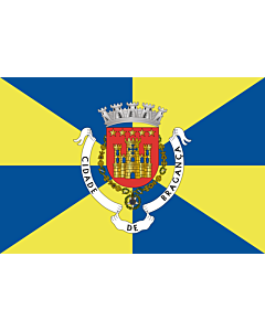 Flag: Bragança District |  landscape flag | 0.24m² | 2.5sqft | 40x60cm | 1.3x2foot