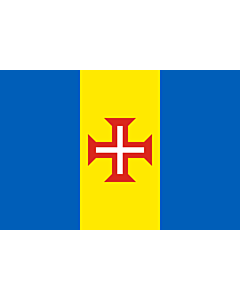 Flag: Madeira |  landscape flag | 0.24m² | 2.5sqft | 40x60cm | 1.3x2foot