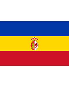 Flag: Paraguay  1811 |  landscape flag | 1.35m² | 14.5sqft | 90x150cm | 3x5ft