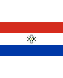 Indoor-Flag: Paraguay 90x150cm