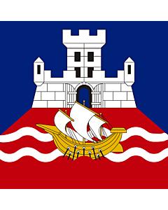Bandera: Belgrade | My attempt to draw the city flag |  0.06m² | 25x25cm