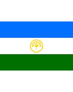 Flagge: XXS Baschkortostan  |  Querformat Fahne | 0.24m² | 40x60cm