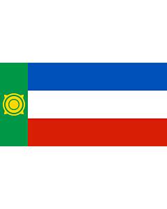 Flagge: XXXL+ Chakassien  |  Querformat Fahne | 6.7m² | 180x360cm