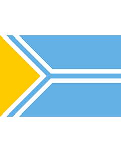Flagge: XXS Tyva  |  Querformat Fahne | 0.24m² | 40x60cm
