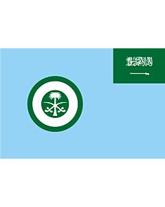 Flag: Royal Saudi Air Force | Ensign of the Royal Saudi Air Force |  landscape flag | 2.16m² | 23sqft | 120x180cm | 4x6ft