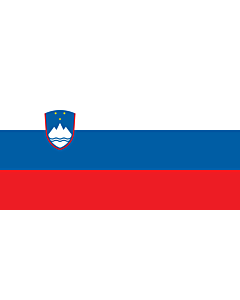 Indoor-Flag: Slovenia 90x150cm