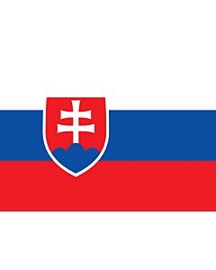 Flag: Slovakia |  landscape flag | 0.7m² | 7.5sqft | 70x100cm | 2x3ft