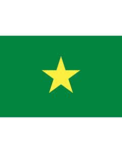 Drapeau: Sénégal en 1958 avant l indépendance |  drapeau paysage | 1.35m² | 90x150cm