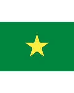 Flag: Senegal in 1958 before independence |  landscape flag | 2.16m² | 23sqft | 120x180cm | 4x6ft