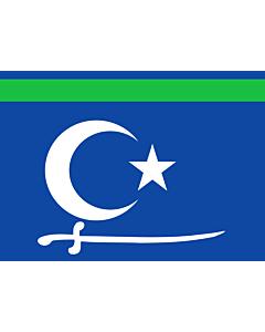 Flag: Sool Sanaag Ayn/Cayn regions (Somalia) |  landscape flag | 1.35m² | 14.5sqft | 90x150cm | 3x5ft