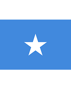 Flag: Somalia |  landscape flag | 0.7m² | 7.5sqft | 70x100cm | 2x3ft