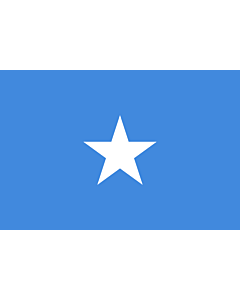 Flag: Somalia |  landscape flag | 0.96m² | 10sqft | 80x120cm | 2.5x4ft