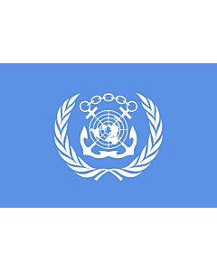 Indoor-Flag: International Maritime Organization 90x150cm
