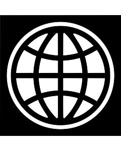 Drapeau de Table: Banque mondiale, BM 15x25cm