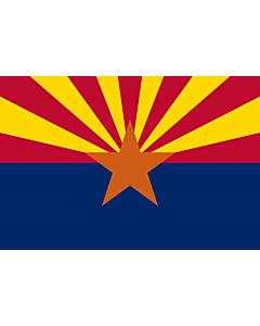 Table-Flag / Desk-Flag: Arizona 15x25cm