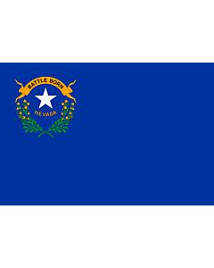 Flag: Nevada |  landscape flag | 0.24m² | 2.5sqft | 40x60cm | 1.3x2foot