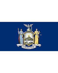 Flag: New York |  landscape flag | 0.24m² | 2.5sqft | 35x70cm | 15x30inch