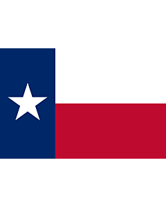 Flag: Texas |  landscape flag | 0.24m² | 2.5sqft | 40x60cm | 1.3x2foot