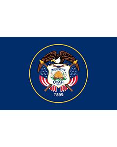 Bandera: Utah |  bandera paisaje | 0.24m² | 40x60cm