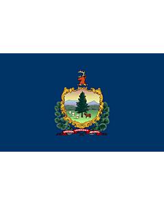 Bandera: Vermont |  bandera paisaje | 0.24m² | 40x60cm