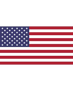 Bandera: Estados Unidos |  bandera paisaje | 0.375m² | 50x75cm