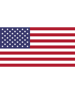 Flag: United States |  landscape flag | 0.7m² | 7.5sqft | 70x100cm | 2x3ft