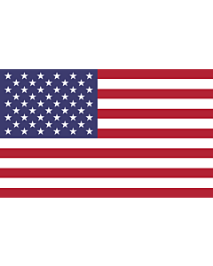 Indoor-Flag: United States 90x150cm