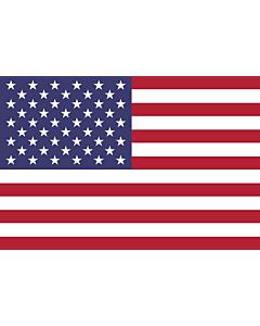 Bandera: Estados Unidos |  bandera paisaje | 2.16m² | 120x180cm