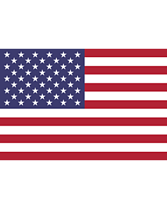 Flag: United States |  landscape flag | 2.16m² | 23sqft | 120x180cm | 4x6ft
