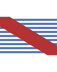 Bandera: Departamento de Canelones |  bandera paisaje | 0.24m² | 40x60cm