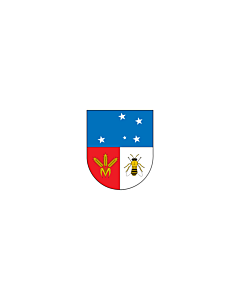 Bandera: Colonia |  bandera paisaje | 6.7m² | 200x335cm