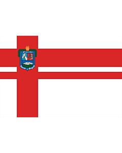Bandera: Florida |  bandera paisaje | 0.24m² | 40x60cm