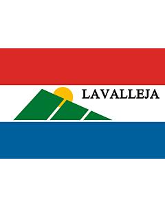 Bandera: Departamento de Lavalleja |  bandera paisaje | 6.7m² | 200x335cm