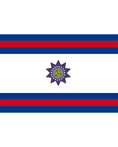 Flag: Paysandú Department  |  landscape flag | 6.7m² | 72sqft | 200x335cm | 6x11ft