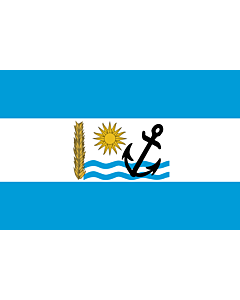 Flag: Río Negro Department |  landscape flag | 0.24m² | 2.5sqft | 40x60cm | 1.3x2foot