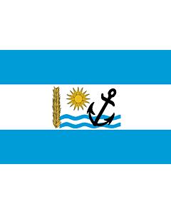 Bandera: Río Negro |  bandera paisaje | 0.24m² | 40x60cm