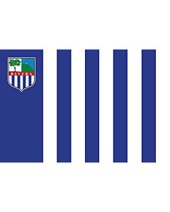Flag: Rivera |  landscape flag | 6.7m² | 72sqft | 200x335cm | 6x11ft