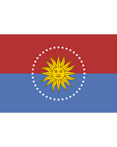 Bandera: San José |  bandera paisaje | 6.7m² | 200x335cm