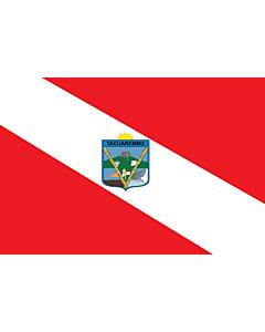 Bandera: Tacuarembó |  bandera paisaje | 0.24m² | 40x60cm