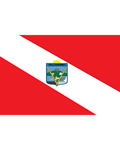 Flag: Tacuarembó |  landscape flag | 6.7m² | 72sqft | 200x335cm | 6x11ft