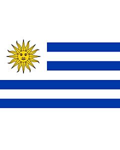 Bandera: Uruguay |  bandera paisaje | 0.7m² | 70x100cm