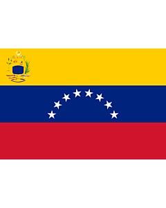 Flag: Venezuela |  landscape flag | 6.7m² | 72sqft | 200x335cm | 6x11ft