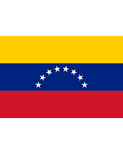 Table-Flag / Desk-Flag: Venezuela 15x25cm