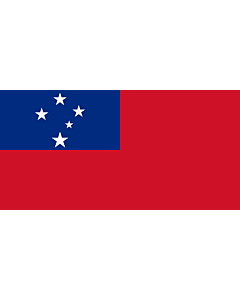 Drapeau: Samoa |  drapeau paysage | 0.135m² | 30x45cm