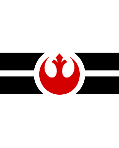 Bandera: Rebel Alliance | Alliance to Restore the Republic  a |  bandera paisaje | 1.35m² | 100x130cm