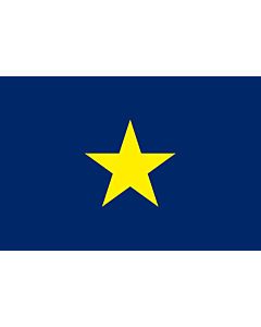 Flag: Texas  1836–1839 | The Burnet Flag | Poprzednia flaga Teksasu 90x150cm | 3x5ft