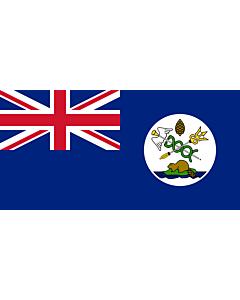 Flag: Vancouver Island |  landscape flag | 1.35m² | 14.5sqft | 80x160cm | 30x60inch