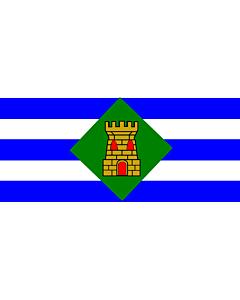 Flag: Vieques, Puerto Rico |  landscape flag | 1.35m² | 14.5sqft | 90x150cm | 3x5ft
