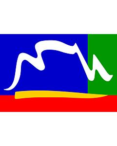 Flag: Cape Town |  landscape flag | 1.35m² | 14.5sqft | 90x150cm | 3x5ft