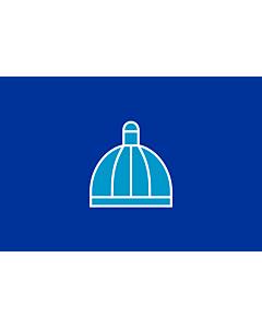 Flag: DurbanFlag | City of Durban |  landscape flag | 2.16m² | 23sqft | 120x180cm | 4x6ft